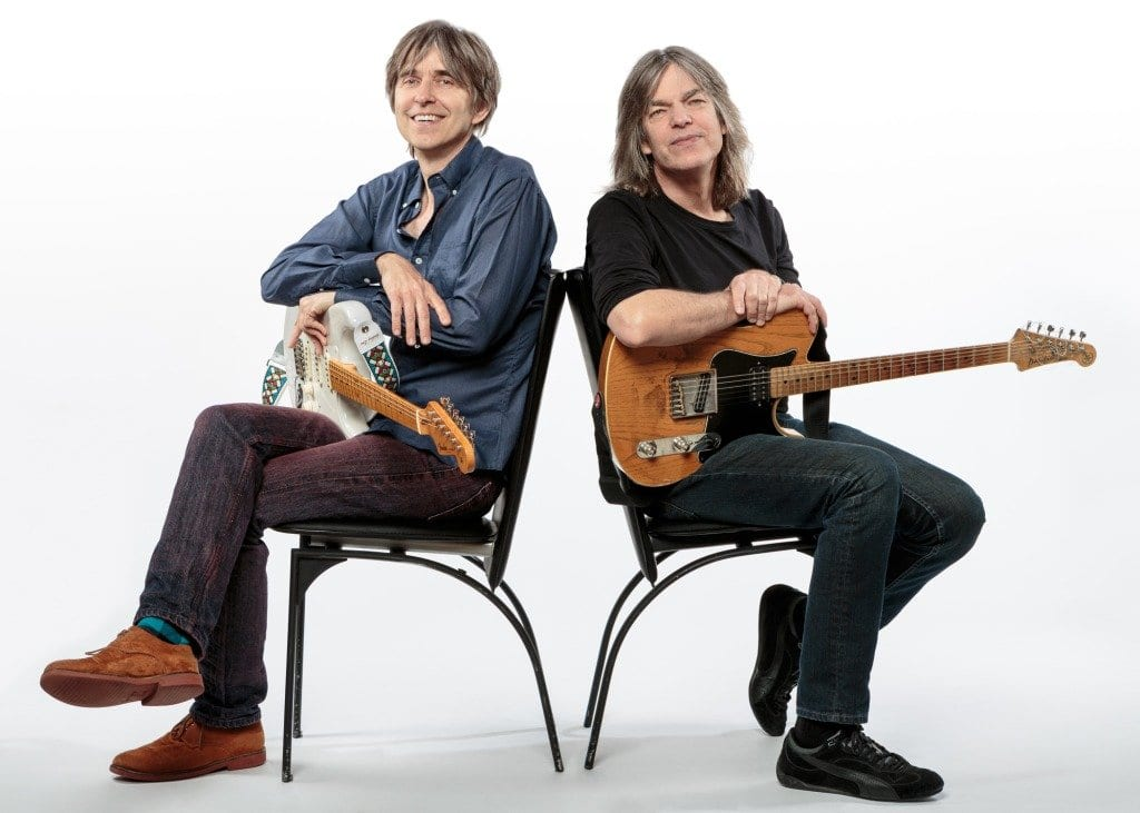 Eric Johnson and Mike Stern (Photo: Max Crace)