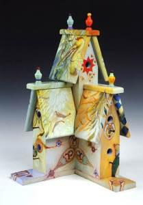 Birdhouse #2 by Heidi Christensen. (Photo: Greg Staley)