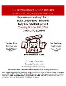 DulinFlippinPizzaFlyerOct2014