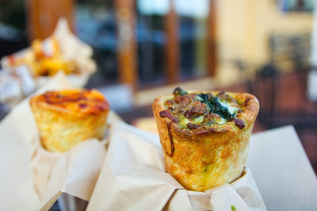 You'll have to venture outside The Little City to find a pizza cone. (Photo: News-Press)