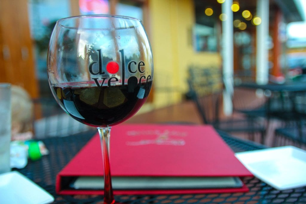 Dolce Veloce and its binder of wine. (Photo: News-Press)