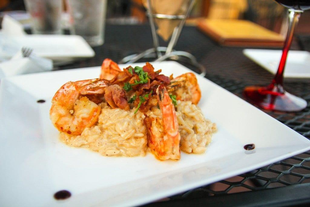 Shrimp and pancetta rissotto known as risotto ai gamberi. (Photo: News-Press)