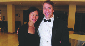 Julie Huang Tucker (left), minister of music for The Falls Church Episcopal, and Scott Tucker, artistic director for The Choral Arts Society of Washington, will be collaborating in a production of Under the Midnight Sun to The Falls Church Episcopal's 2014-2015 Community Concert Series. (Courtesy Photo)