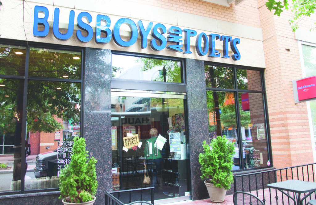 Busboys and Poets, which has four locations in the metropolitan area including the Shirlington spot shown above, has become a fixture for great food, good literature and awesome performances. (Photo: News-Press)