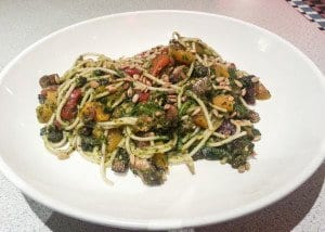 The Pesto Veggie Pasta (shown above) is one of Silver Diner's many new vegan options. (Photo: News-Press)