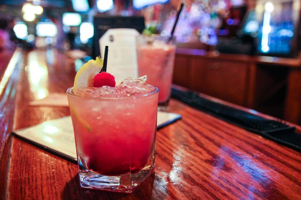 THE BRAMBLE, featuring gin, lemon, simple syrup and black raspberry liqueur, is one of the new summer cocktail creations at Dogwood. (Photo: News-Press)