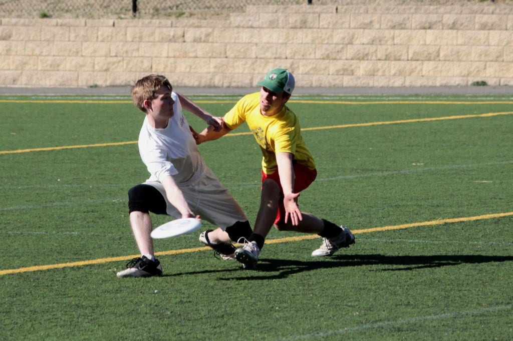 Players for the DC Breeze practice for their upcoming season. The local professional Ultimate team will open its season this Saturday at George Mason High School.  (Courtesy Photo)