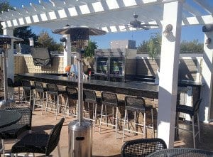 With the winter weather finally over and done with (hopefully), Dogwood Tavern plans to open their new outdoor bar and patio this weekend.