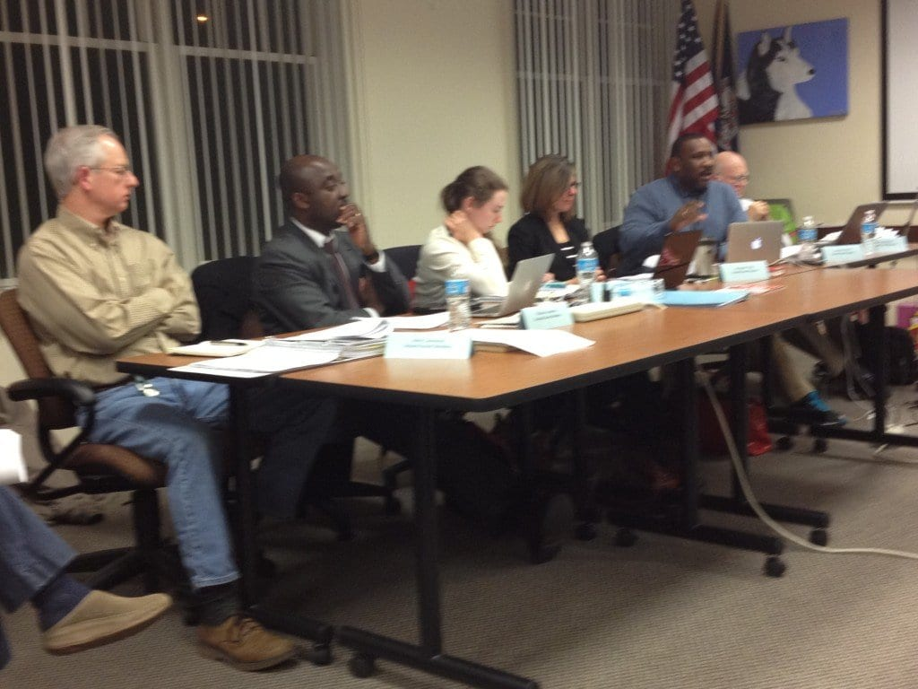 Members of the FC School Board deliberated over their proposed budget tonight. (Photo: News-Press)