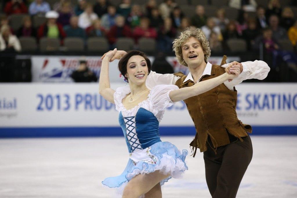 Meryl Davis and Charlie White (Photo: U.S. Figure Skating)