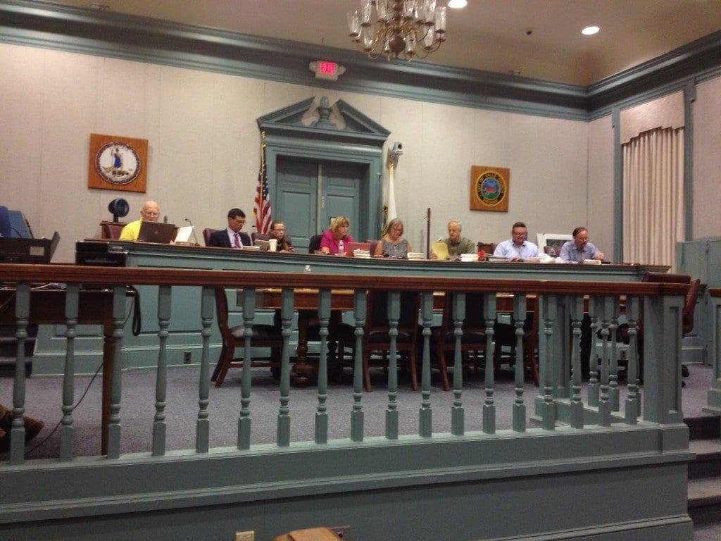 The F.C. School Board convenes Tuesday night. (Photo: Falls Church News-Press)