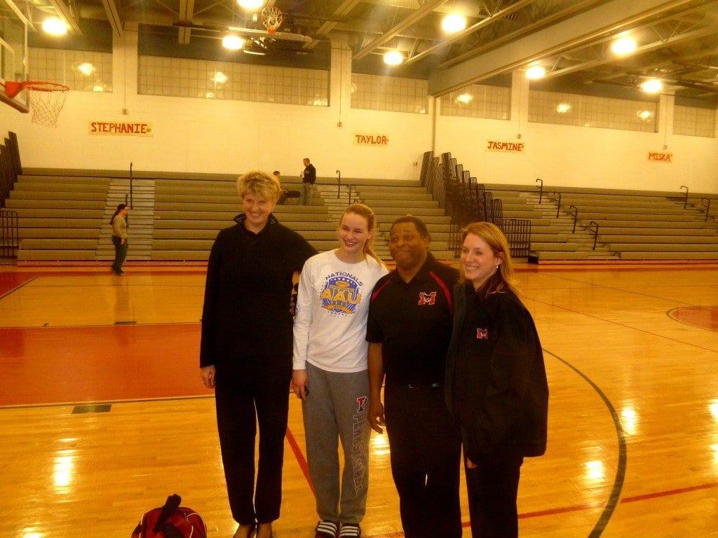 Stephanie & Three Coachs - 2