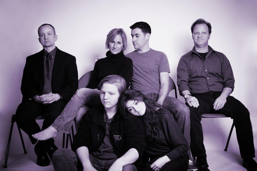 """The cast of McLean Community Players' """"Next to Normal"""" is pictured above. The musical opens Feb. 1. (Photo: Traci J. Brooks Photography)"""